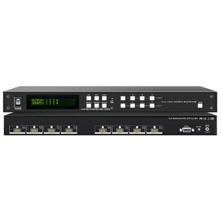 Sdi Matrix Routing Switcher - A-Neuvideo HD-44G 4x4 HDMI HDTV Matrix Routing Switcher Selector w/1-Yr Warranty
