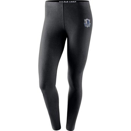 Dallas Mavericks Nike Women's Leg-A-See Tights - Black - Zoe Ball Tights