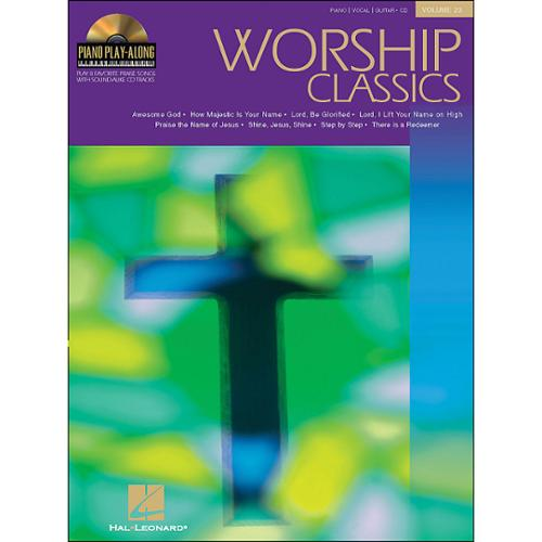 Hal Leonard Piano Play-Along Volume #23-Worship Classics (Book and CD)