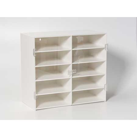 AK 50362 Organizer, Cabinet, 10Comp, 17x20x10In by