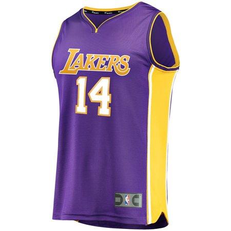 52024049e52 Fanatics Branded Youth Los Angeles Lakers Brandon Ingram ZCD & F Purple  Fast Break Replica Jersey - Statement Edition - Walmart.com