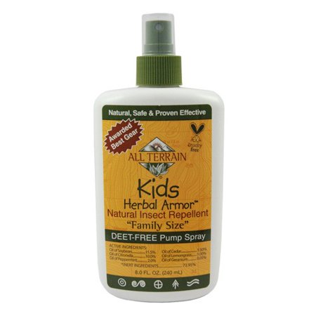 All Terrain All Terrain Herbal Armor Natural Insect Repellent - Kids - Family Sz - 8