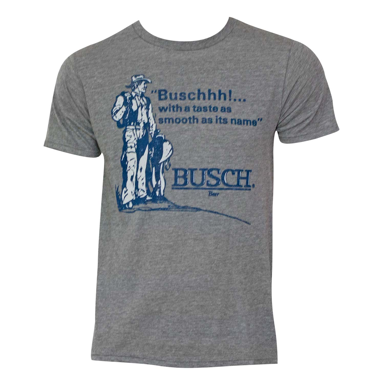 Men's Busch Taste Grey T-Shirt