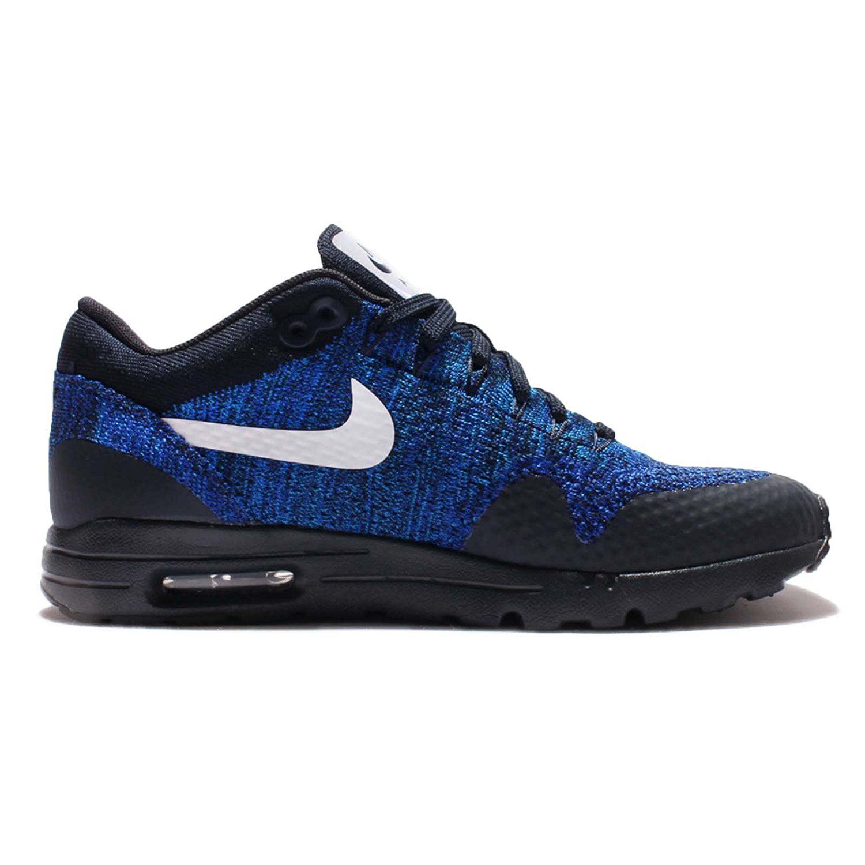 Nike Women's Air Max 1 Ultra Flyknit Shoes-Blue/Black