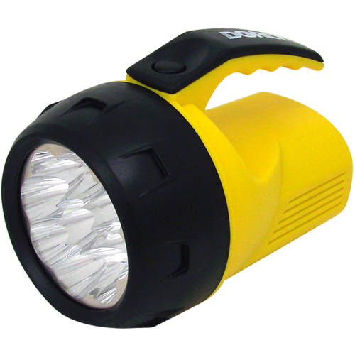 Dorcy 41-1047 Mini LED Flashlight Lantern with Top Handle, 27-Lumens, Assorted Colors