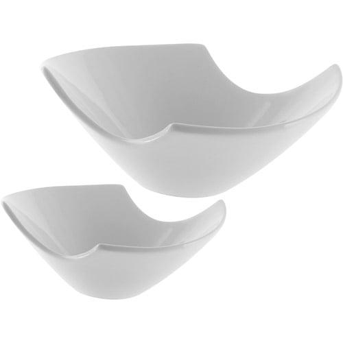 10 Strawberry Street Whittier Samurai Bowl Set, White