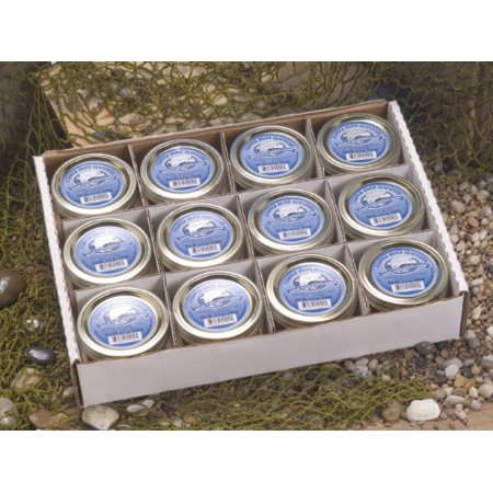 Copper River Seafoods Smoked Coho (silver) Salmon - 12 - 6.5 oz Jars Alder Wood Smoked Salmon