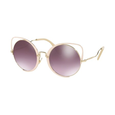 Sunglasses Miu MU 51 TS 4UD085 PALE GOLD/GLIETER (Miu Miu Shades)