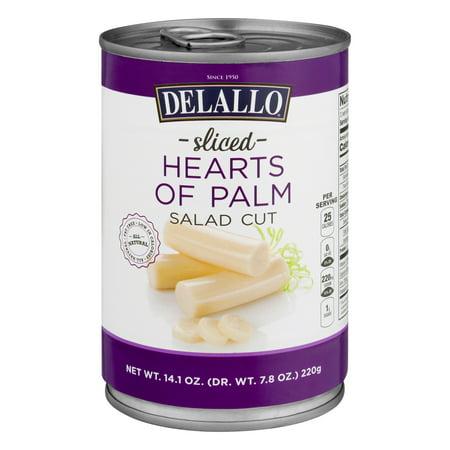 Delallo Sliced Hearts Of Palm Salad Cut, 8.5 Oz
