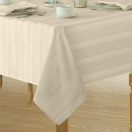 Astounding Charlton Home Robyn Stripe Fabric Tablecloth Download Free Architecture Designs Scobabritishbridgeorg