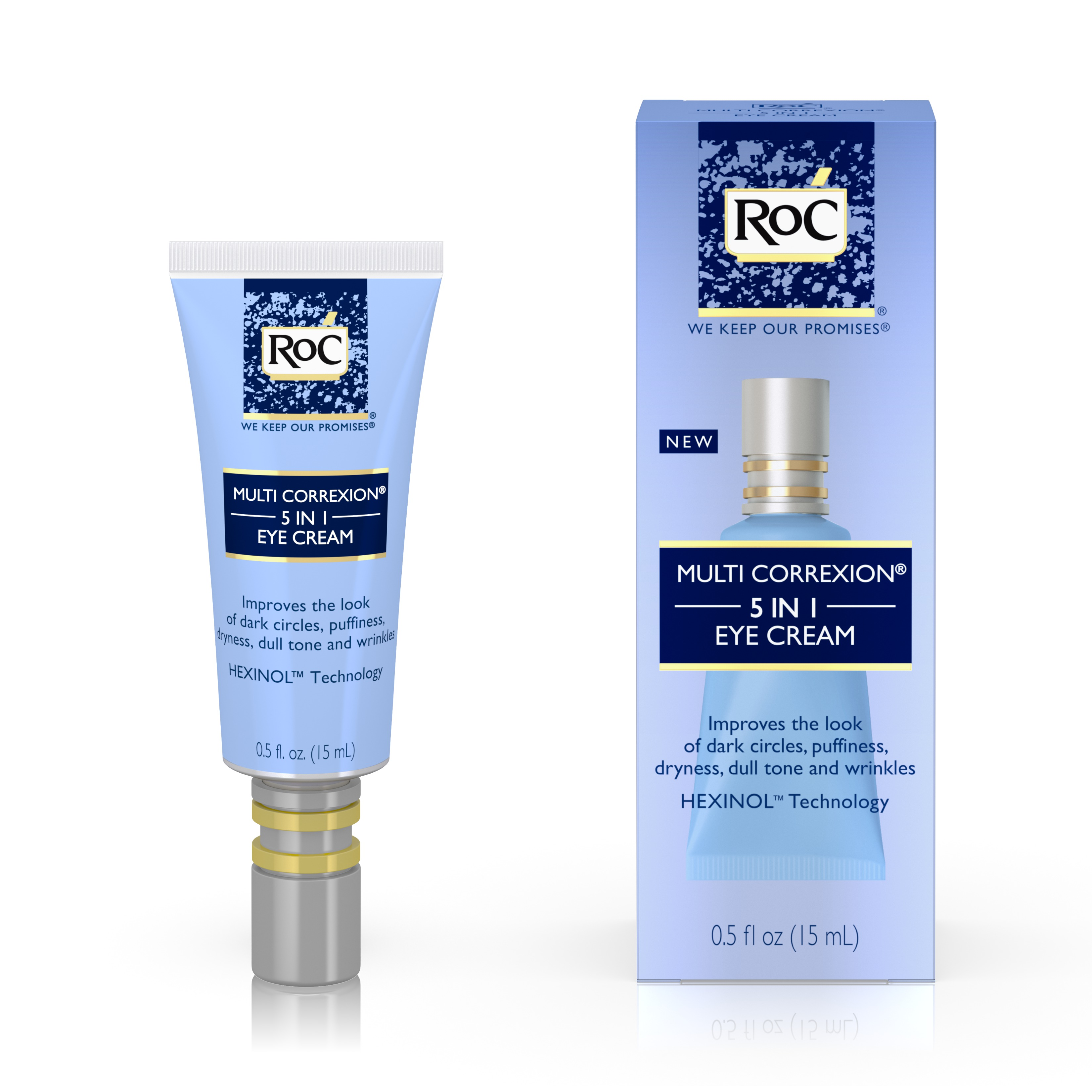 RoC Multi Correxion 5 in 1 Eye Cream, Anti-Aging Treatment,.5 fl. oz