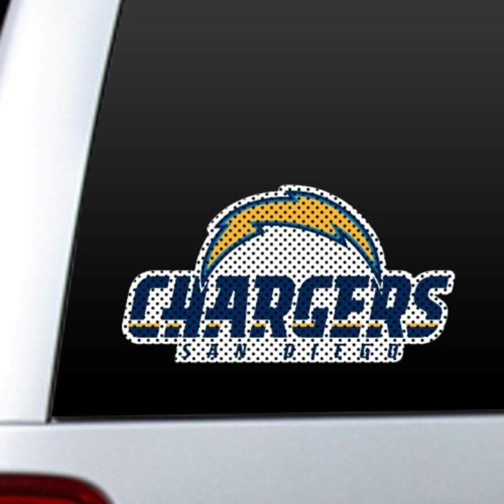 Nfl San Diego Chargers Die Cut Window Film Made In Usa By Fremont