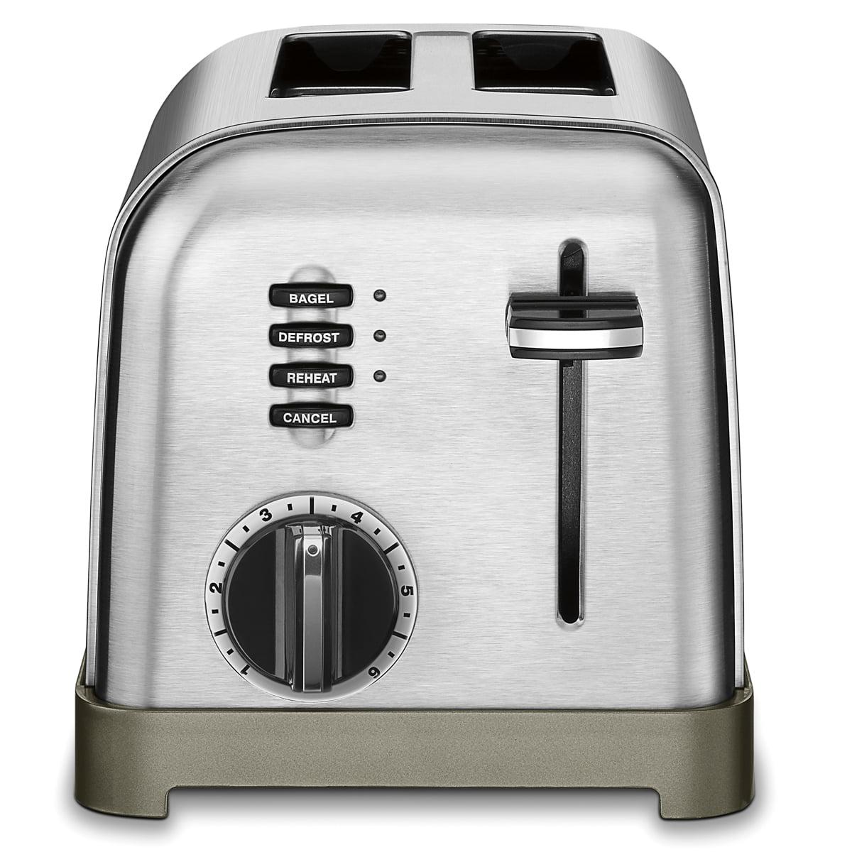 Cuisinart Metal Classic 2 Slice Toaster