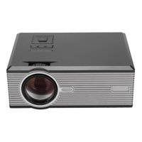 LHCER Mini Portable HD 1200LM LED 1080P Video Home Theater Smart Projector US Plug 100-240V, 1080P Projector, Home Cinema Projector
