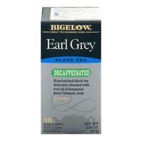 (3 Boxes) Bigelow® Earl Grey Blend Decaffeinated Tea Bags 1.18 oz. Box