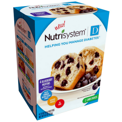 Nutrisystem D 5 Day Diabetic Jumpstart Weight Loss Kit