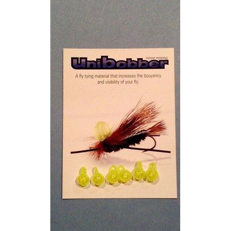 Westwater Products Thingamabobber Strike Indicator (Chartreuse Unibobber - Fly Tying Strike Indicator - 6 pack, By Thingamabobber)