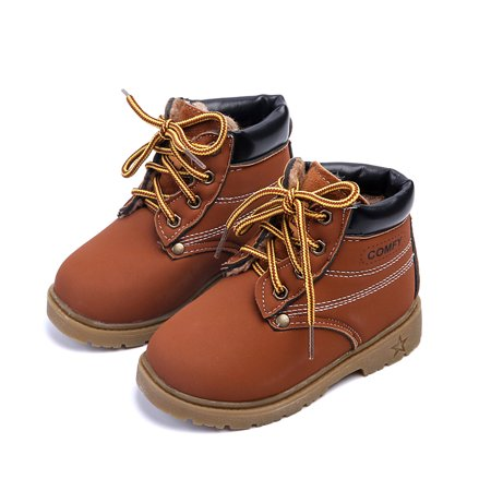 Baby Kids Classic Waterproof Boots Girl Boy Rain Hiking Winter Snow Boots  Todder  Little Kid