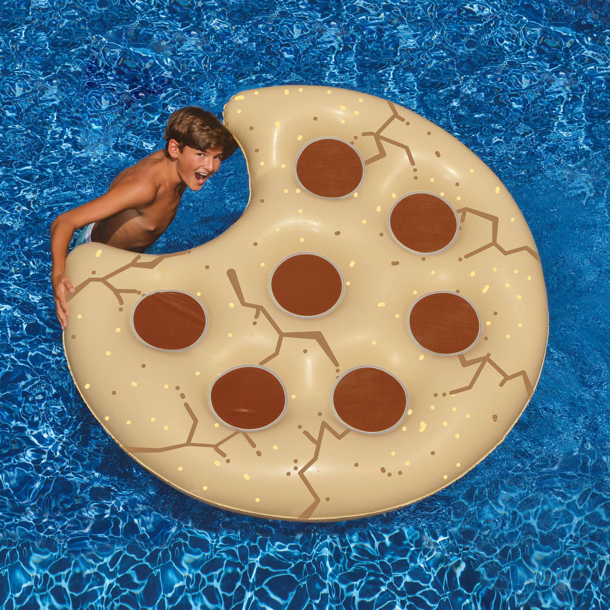 "Cookie Float 60"" Inflatable Pool Toy Walmart"