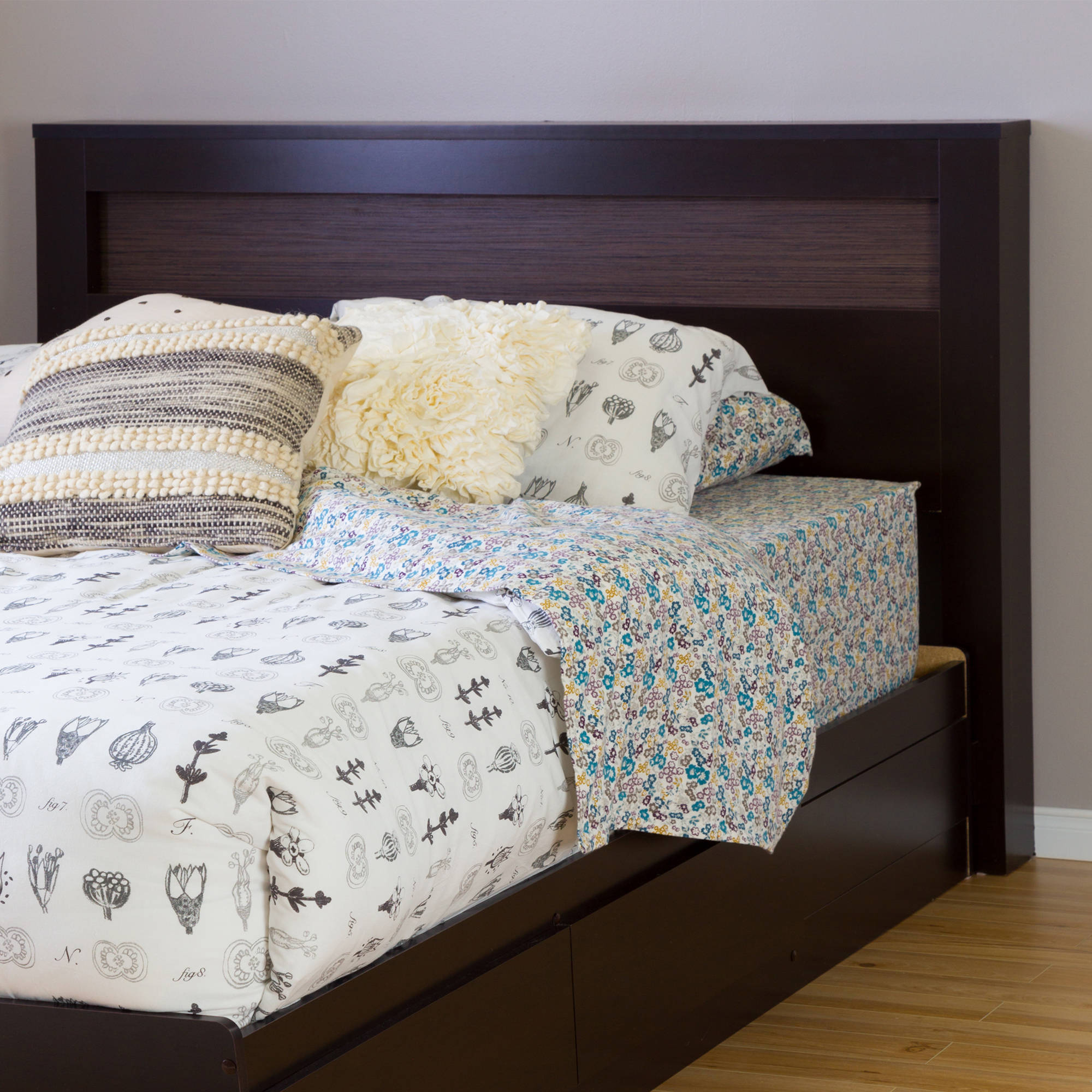 "South Shore Vito Full/Queen Headboard (54""/60""), Multiple Patterns"
