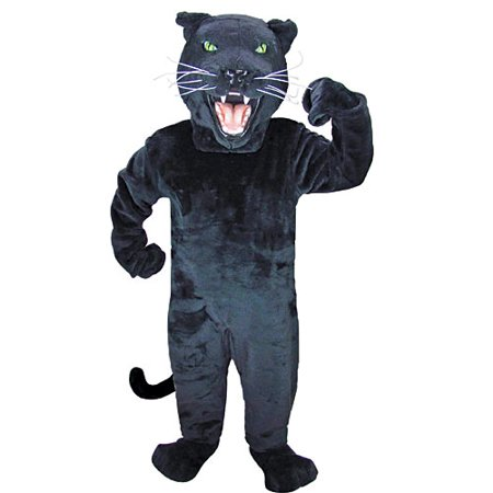 Black Panther Mascot (Panther Mascot)