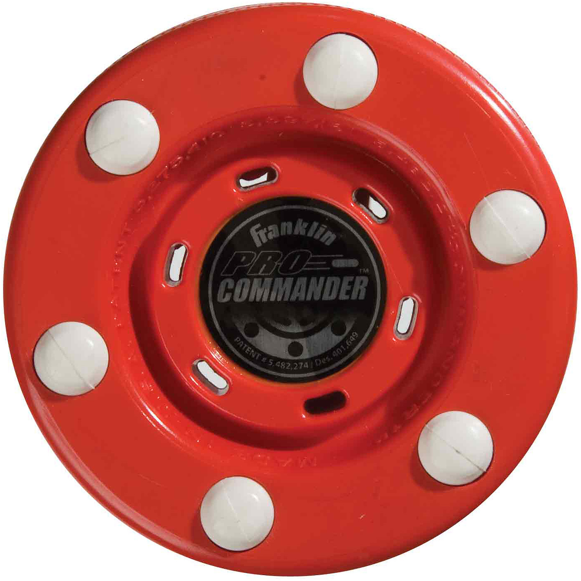 Franklin Sports NHL Pro Commander Puck, Red