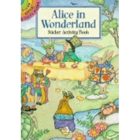Alice In Wonderland Tutorial (Alice in Wonderland Sticker Activity)