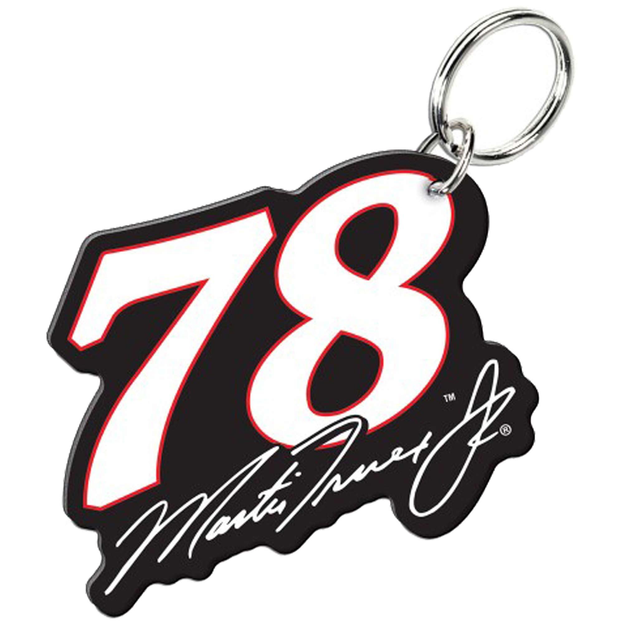 Martin Truex Jr WinCraft Number Premium Acrylic Key Ring - No Size