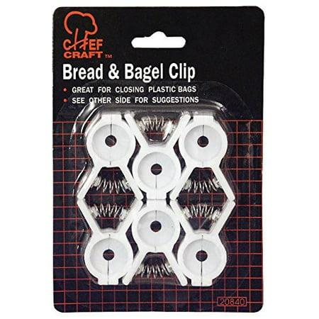 Chef Craft Bread & Bagel Clips - 12 Piece