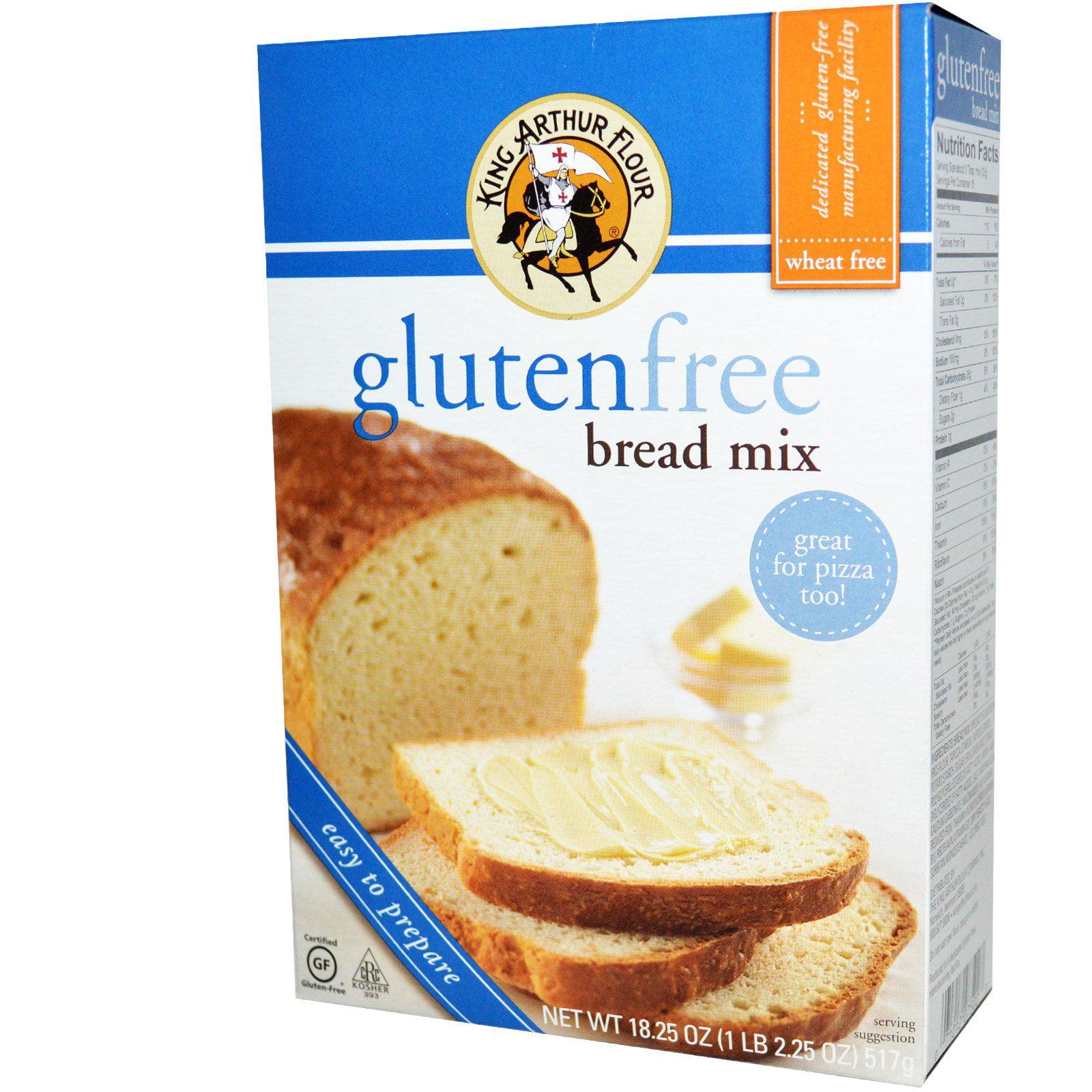 King Arthur Flour, Gluten Free Bread Mix, 18.25 oz (pack of 3)