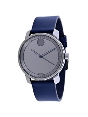 Movado Men's Bold Mid-Sized Analog Leather 41mm Watches