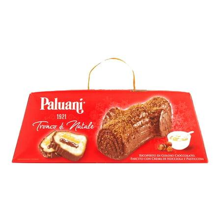 Paluani Tronco Di Natale Christmas Log Cake .81 oz each (1 Item Per Order, not per case) ()
