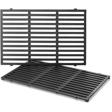 24 Cast Iron Grate (Weber Porcelain-Enameled Cast-Iron Cooking Grates, Spirit 300)