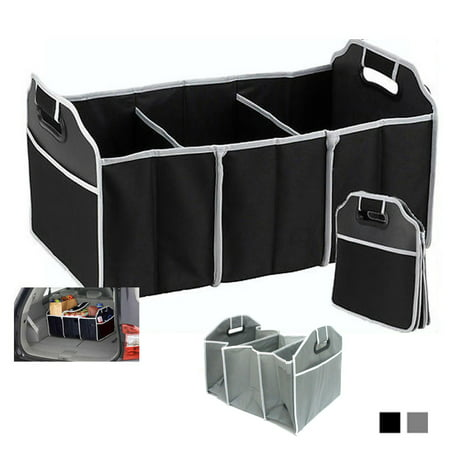 Trunk Organizer Collapsible Folding Caddy Car Truck Auto Storage Bin Bag New (Best New Car Accessories)
