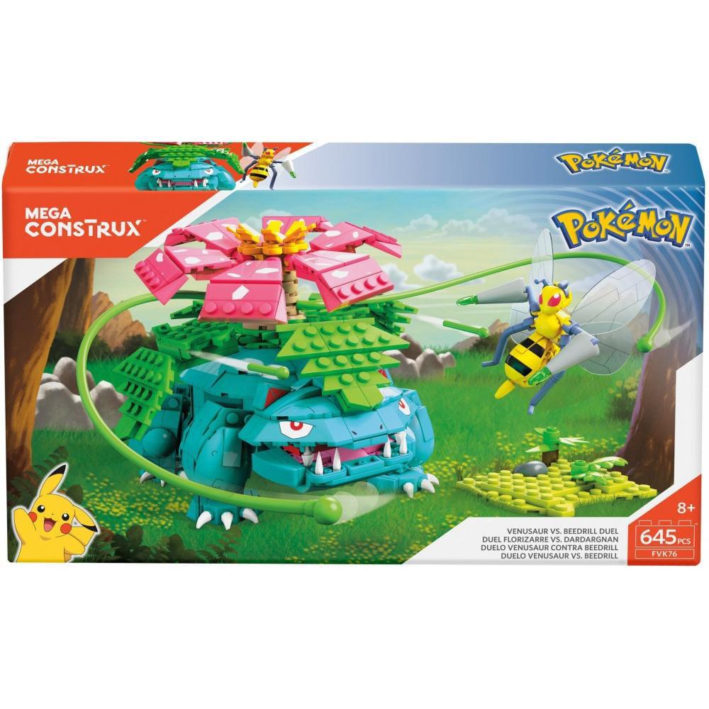 Mega Construx Pokemon Venesaur Vs. Beedrill Duel by Mattel