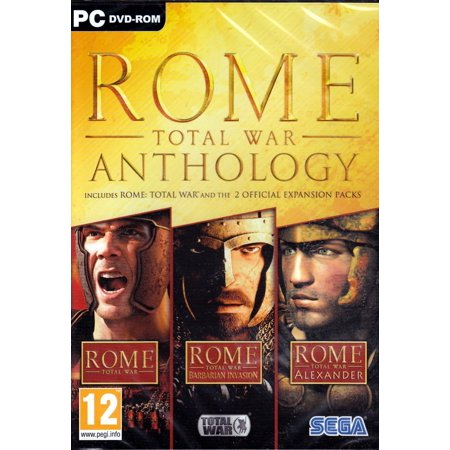 ROME Total War Anthology (3 PC Games) Alexander+Barbarian (Best Computer For Total War Games)