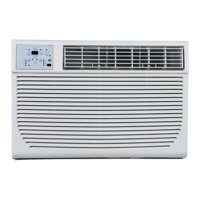 Impecca ITAC12KSB21 12 000 Btu/h 208/230v Electronic Through The Wall Air Conditioner