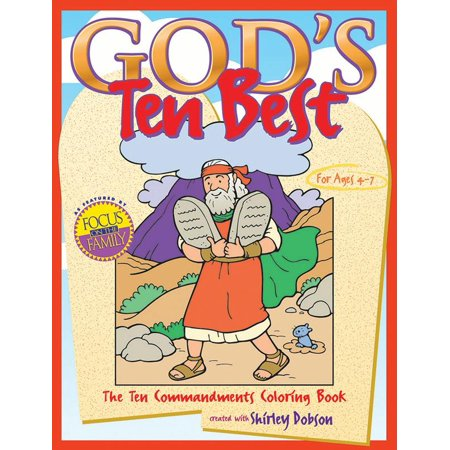 God's Ten Best : The Ten Commandments Coloring (Best Mvc Tutorial C#)