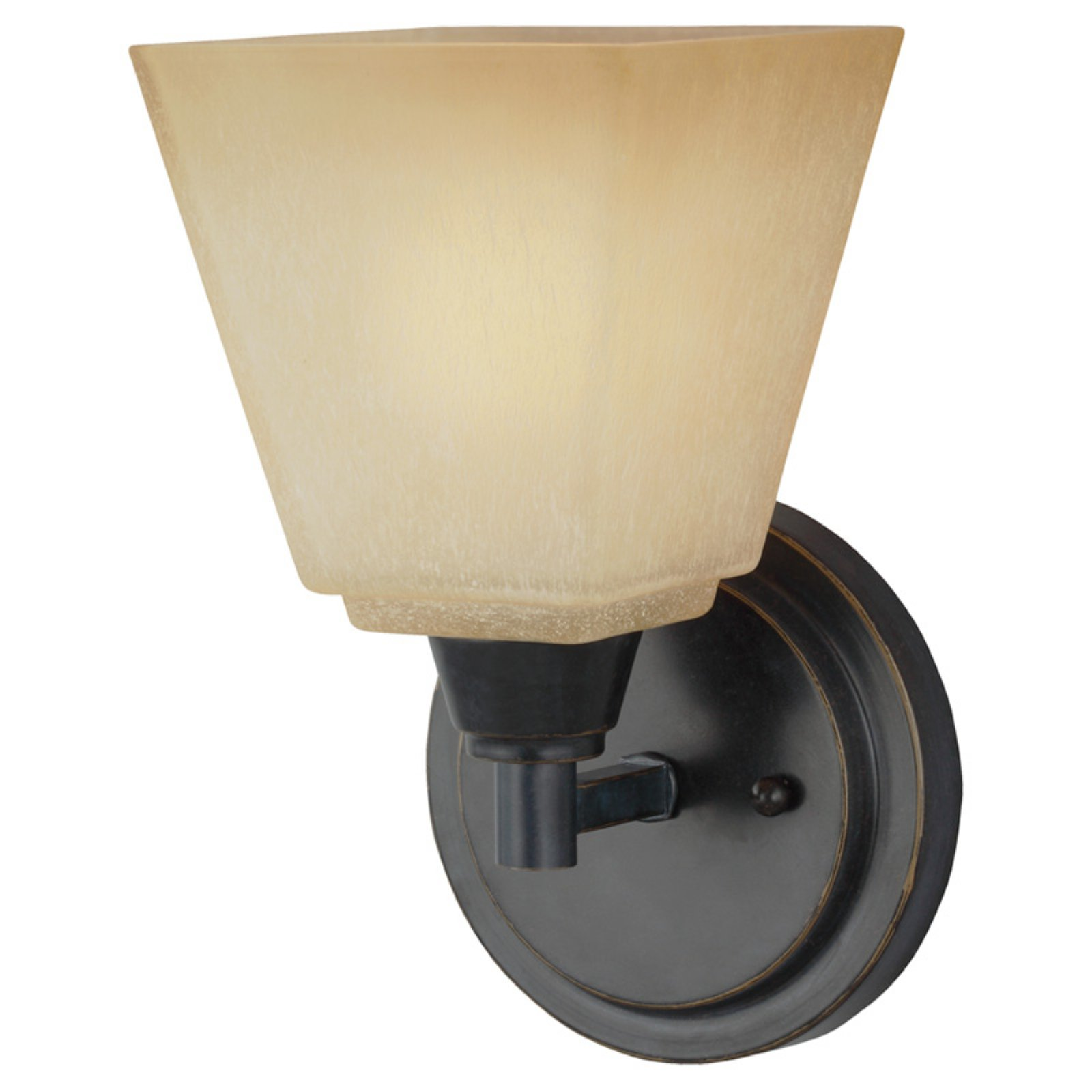 Sea Gull Lighting Parkfield 4113001 1-Light Wall / Bath Sconce