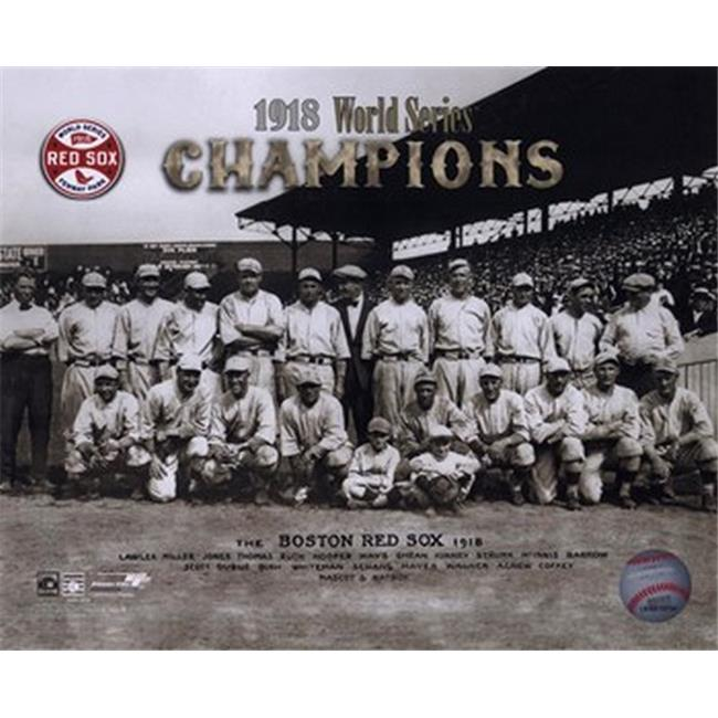 Photofile PFSAAGR22301 1918 Red Sox World Series Champions Sports Photo - 10 x 8