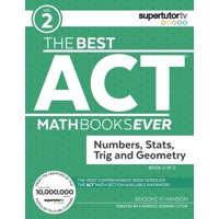 The Best ACT Math Books Ever, Book 2 (Paperback)