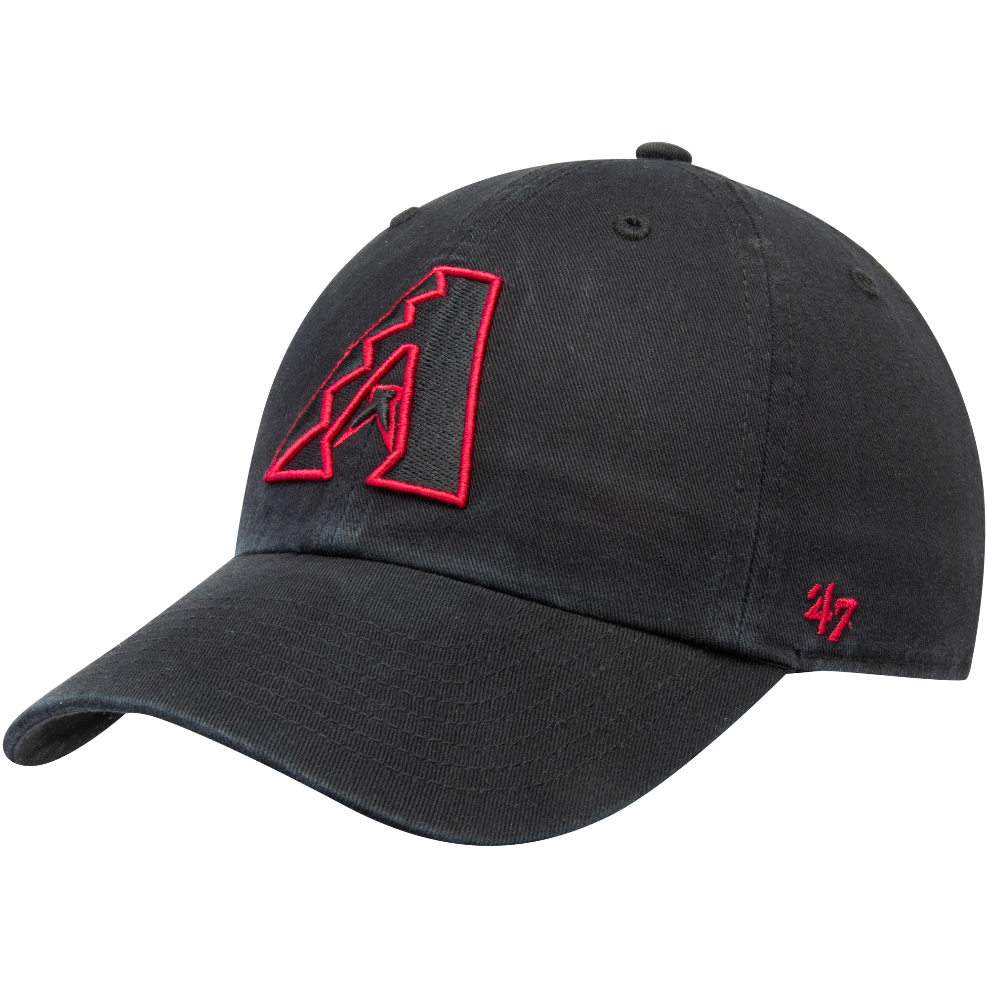 Arizona Diamondbacks '47 Team Color Clean Up Adjustable Hat - Black - OSFA