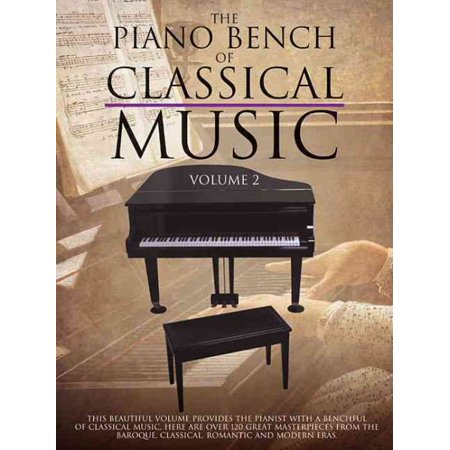 The Piano Bench Of Classical Music