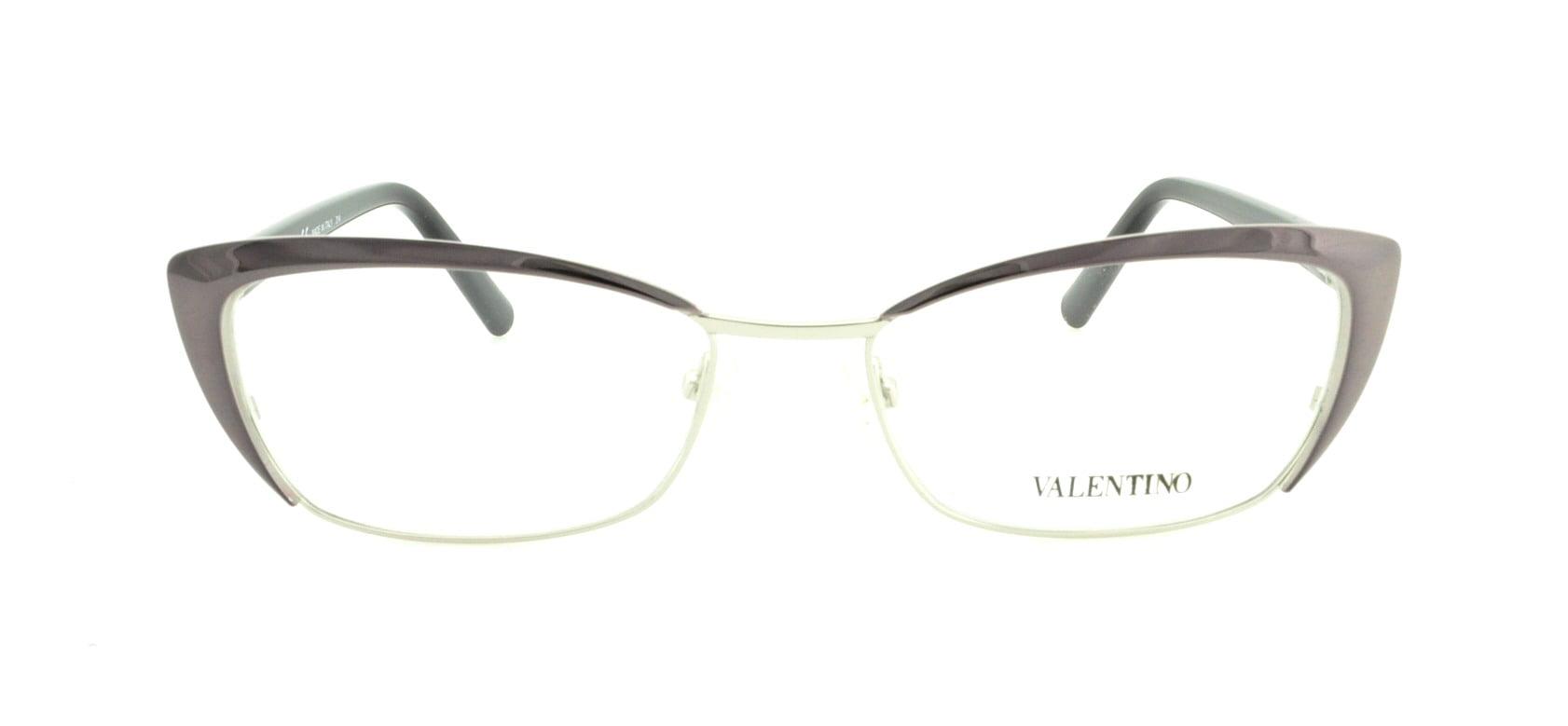 VALENTINO Eyeglasses V2122 060 Gunmetal 52MM - Walmart.com