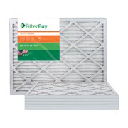 AFB Bronze MERV 6 16x24x1 Pleated AC Furnace Air Filter. Pack of 6 Filters. 100% produced in the USA.