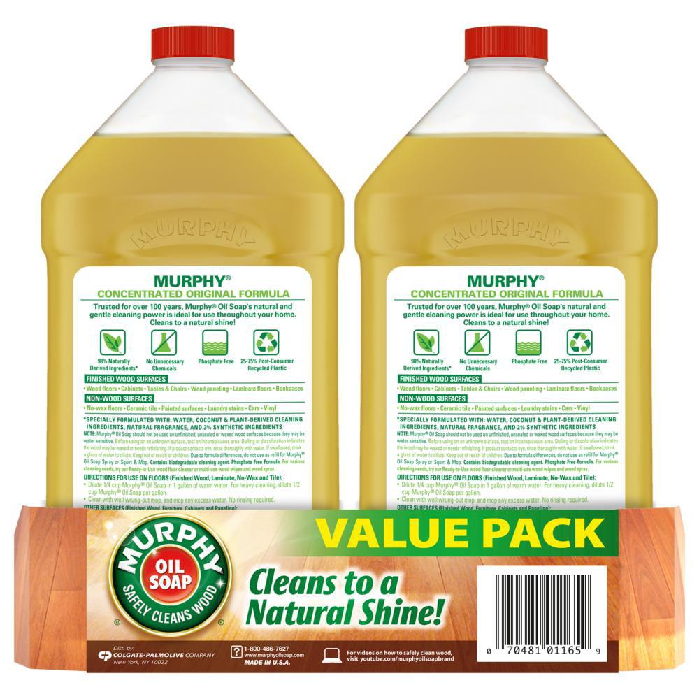 Murphys Oil Soap Uses >> Murphy Oil Soap Wood Cleaner Original 32 Fluid Ounce 2 Count