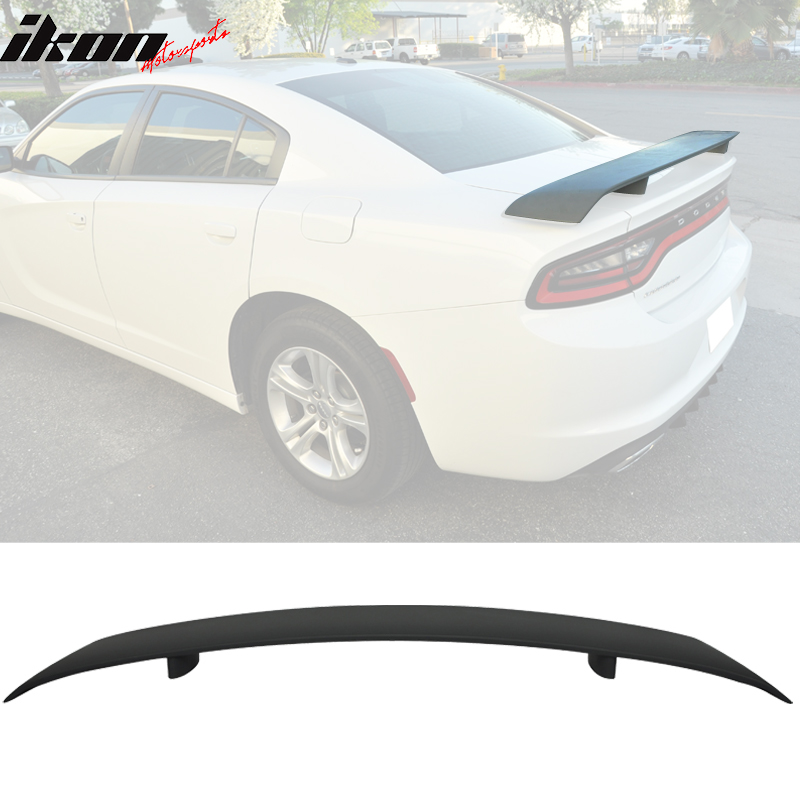 VIPMOTOZ Rear Trunk Lid ABS Plastic Spoiler Tail Wing For 2011-2018 Dodge Charger