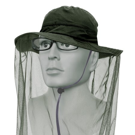 7612f25e436e92 IClover Net Mesh Head Face Protector Anti-mosquito Mask Hat [4 Colors]  Insect Bee Mosquito Bug Resistance Sunhat Safari Hat without UV Protection  for Travel ...