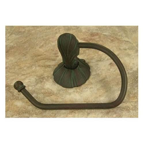 Oceanus Tissue Holder w/sm. Rosette (Antique Bronze)