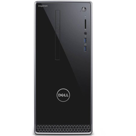 Refurbished Dell Inspiron 3650 I3650 3111Slv Desktop Pc With Intel Core I3 6100 Processor  6Gb Memory  1Tb Hard Drive And Windows 10 Home  Monitor Not Included